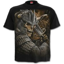 SPIRAL DIRECT VIKING WARRIOR T-Shirt/Celtic/Warriors/Skull/Biker/Goth/Tattoo/Top