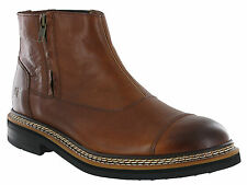 chat Caterpillar Adner cuir homme Zip-Up bottes chelsea uk6-12