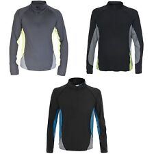 Trespass Mens Wrestle - Maglia Baselayer Manica Lunga - Uomo (TP2095)