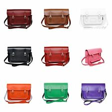 Zatchels - Borsa in Pelle Fatta a Mano - Colori Classici - Satchel British Made