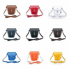Zatchels - Borsetta in Pelle Fatta a Mano - Colori Classici - Barrel Bag British