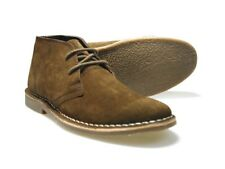 Red Tape Gobi Marrone Uomo Desert Boots in camoscio UK 7-12
