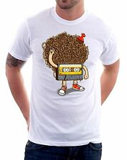 t-shirt humor - cassetta music anni 80 - To give happiness by tshirteria v49