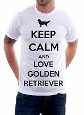 t-shirt humor dog Keep calm and love..... - To give happiness by tshirteria d102