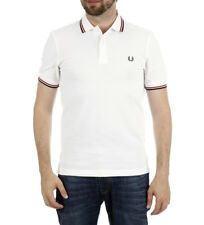 Fred Perry - Polo bianca M3600 Uomo