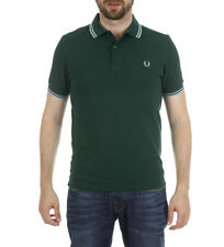 Fred Perry - Polo Verde M3600 Uomo