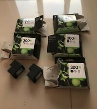 HP 300XL INK CARTRIDGES GENUINE USED EMPTY 5 x Black 2 x Colour Not Refilled