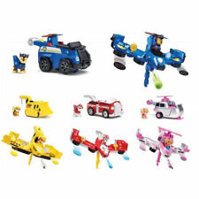 PAW PATROL Veicolo Flip and Fly + Personaggio - Chase - Marshall - Skye - Rubble