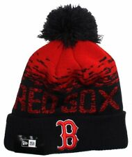 New Era MLB Sport Knit Boston Red Sox Bobble Beanie Hat
