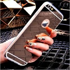 Ultra Thin Mirror Back Soft TPU Silicone Case Cover For Apple iPhone