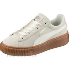 Puma Suede Platform Bubble Wns 366439 02 Womens Shoes Marshmallow Casual Trainer