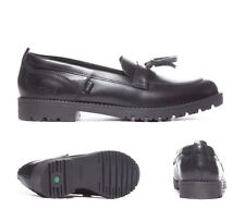 Kickers Lachly Black Loafer Youth School / Formal Shoes RRP £49.99 (KK1)