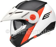 Casco Abatible Off-Road Schuberth E1 Gravity Naranja