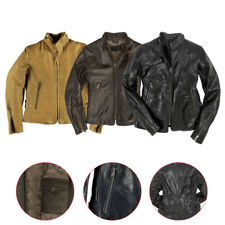 Motorcycle Cafe Racer 100% Original leather Jacket For womens and girls