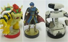 CHARACTERS AMIIBO NINTENDO WII U FIGURE COLLECTION SOLD BULK