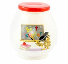 Best Teacher Gift Mason Jar / Cocktail Jar with Straw HoneyPot Money Box