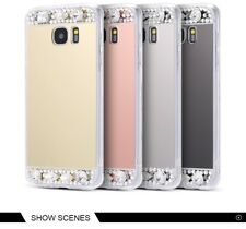 Glitter Mirror Case For Samsung Galaxy S8 Plus S6 S7 Edge Cases For A3 A5 A7 J5