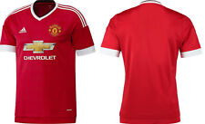 New Adidas Manchester United 2015 16 Home Shirt Adults Mens S M L & XL