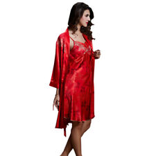 Robe de chambre rouge charme femme taille S