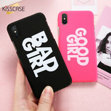 Case Cover For iPhone X 6 6S 7 7 Plus 8 Fitted Case Bad Girl & Good Girl Apple
