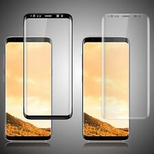 Samsung Galaxy S8 S9 Plus Screen Protector Tempered Glass 3D Curved Glass Shield