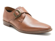 Red Tape Sutton pelle marrone Uomo Scarpe chiuse Monk