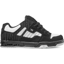 Dvs Enduro Heir Hommes Chaussures Chaussure - Black White Leather Toutes Tailles