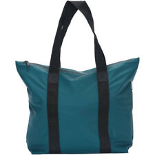 Rains Tote Rush Unisexe Sac à Provisions - Dark Teal Une Taille