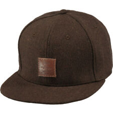 Barts Ruard Hommes Couvre-chefs Casquette - Brown Une Taille