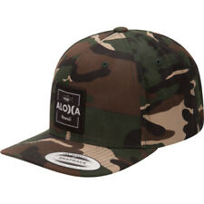 Hurley Aloha Cruiser Hommes Couvre-chefs Casquette - Camo Green Une Taille