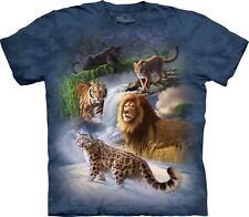 The Mountain Maglietta Global Cats Big Cat Adulto Unisex