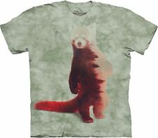 The Mountain Maglietta Unisex Adulto Red Panda Forest Zoo