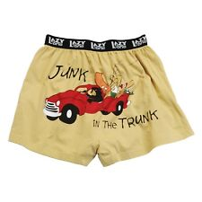 LazyOne Junk in the Trunk Uomo Mutande Boxer