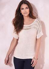 Ladies Short Sleeve Sweater from Kaleidoscope
