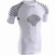 X-bionic Invent Summerlight Ss Hommes Seconde Peau - White Black Toutes Tailles