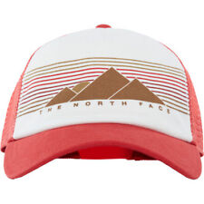 North Face Lo Pro Trucker Femmes Couvre-chefs Casquette - Sunbaked Red Vintage