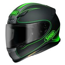 SHOEI NXR CASCO INTEGRALE MOTO flagger TC 4 NERO / Verde
