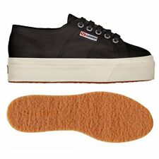 SUPERGA 2790 zeppa 4cm Scarpe DONNA Acotw up and down nero Prv/Est 2790ACOTW 999