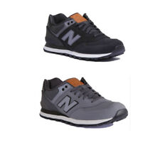 New Balance ML574 GPG Men Suede Leather Black Grey Stone Trainers Size UK 6 -12