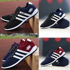 NEW Men's Fashion Sneakers Breathable Canvas Running Sport Athletic Casual Shoes