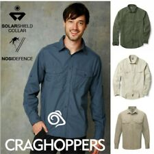 Craghoppers - Kiwi Long Sleeve Shirt - Roll Up Sleeves With Button Tab
