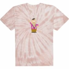 Huf X Southpark Big Gay Al Tie Dye Mens T-shirt - Pink All Sizes