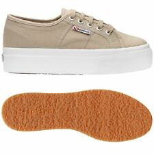 SUPERGA 2790 zeppa 4cm Scarpe DONNA 2790ACOTW LINEA UP AND DOWN Acotw grigio 949
