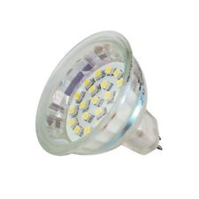 Reflector LED MR16 Blanco 12 VOLTIOS 1,5w, 20 SMD LEDS / bulbo, Lámpara GU5, 3