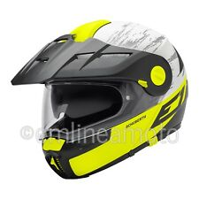 Casco Abatible Off-Road Schuberth E1 Crossfire Amarillo