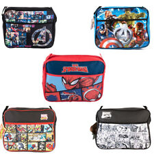 Boys Mens Kids Avengers Marvel Comic Style Messenger Book School Shoulder Bag