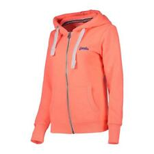 SUDADERA SUPERDRY NARANJA LABEL PRIMARY ZIPHOOD STARBURST