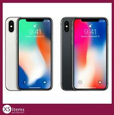 Apple iPhone X (10) A1901 64/256GB Smartphone Space Grey/Silver Unlocked/EE/O2~