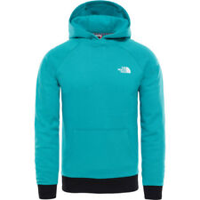 North Face Raglan Red Box Hommes Sweat à Capuche - Porcelain Green