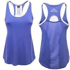 KAPPA canotta YOGA MAGLIETTA t-shirt DONNA BE POSITIVE ZIFEN TRAINING Blu 906dkj